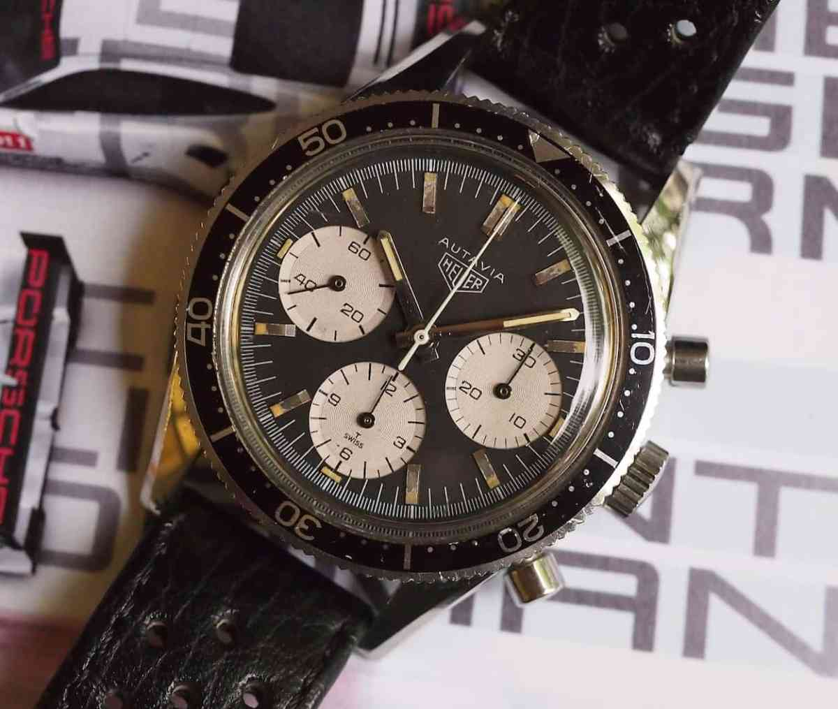 Heuer Autavia 2446 is a stunner