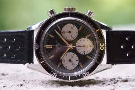 Heuer Autavia 2446 on side