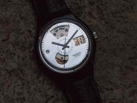 Swatch Automatic mirror dial