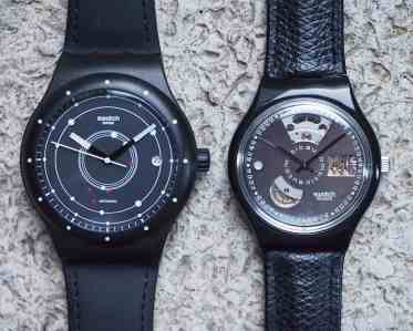 Swatch Automatic and Sistem 51 comparison