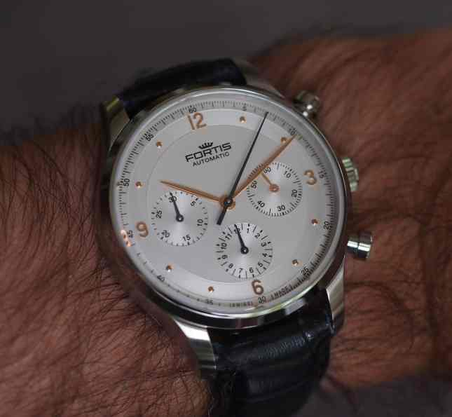 Fortis Tycoon on the wrist
