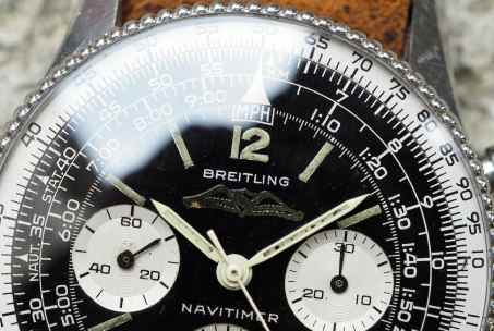 Breitling Navitimer 806 cream hands