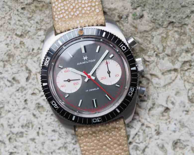 Hamilton Chrono-Diver cover shot