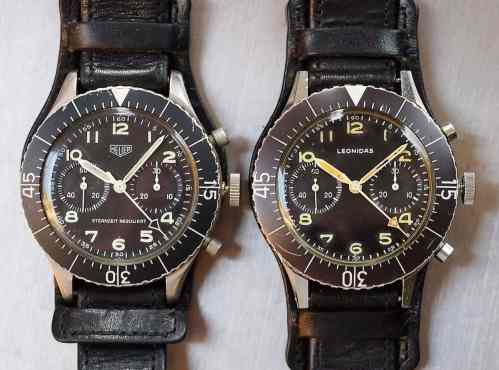 Compare and contrast the cases...the Leo and the Heuer