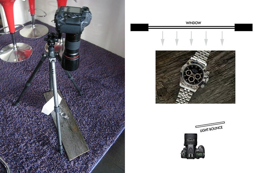 Photo set-up - Watch Photography