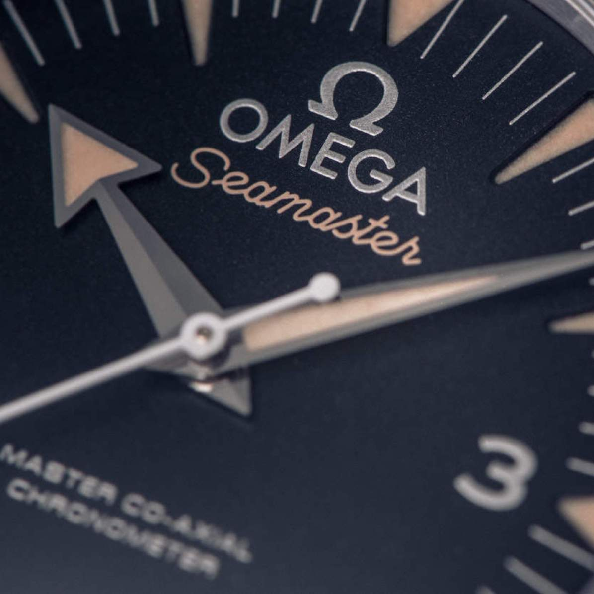 Omega Seamaster 300 Spectre dial
