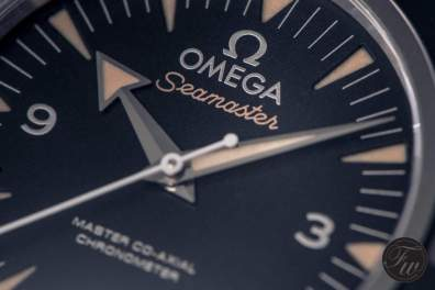 Omega Seamaster 300 Spectre dial