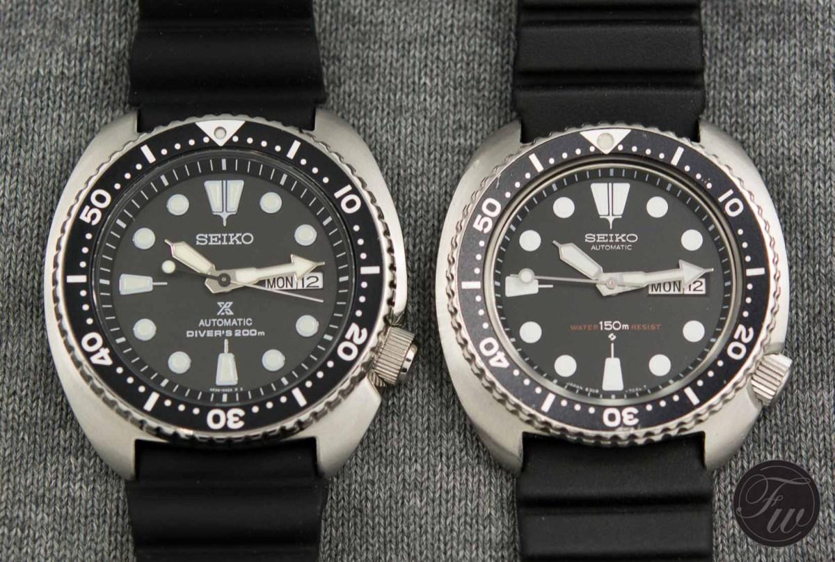 Seiko SRP777 versus Seiko 6309