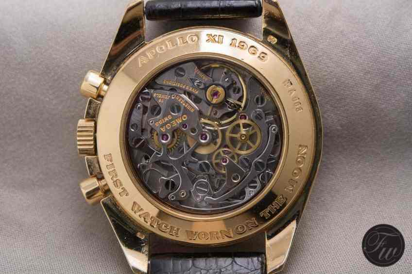Gold Moonwatch Model