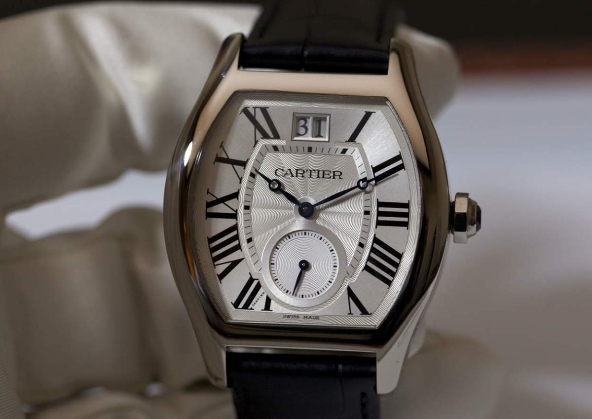 Cartier Tortue XL White Gold