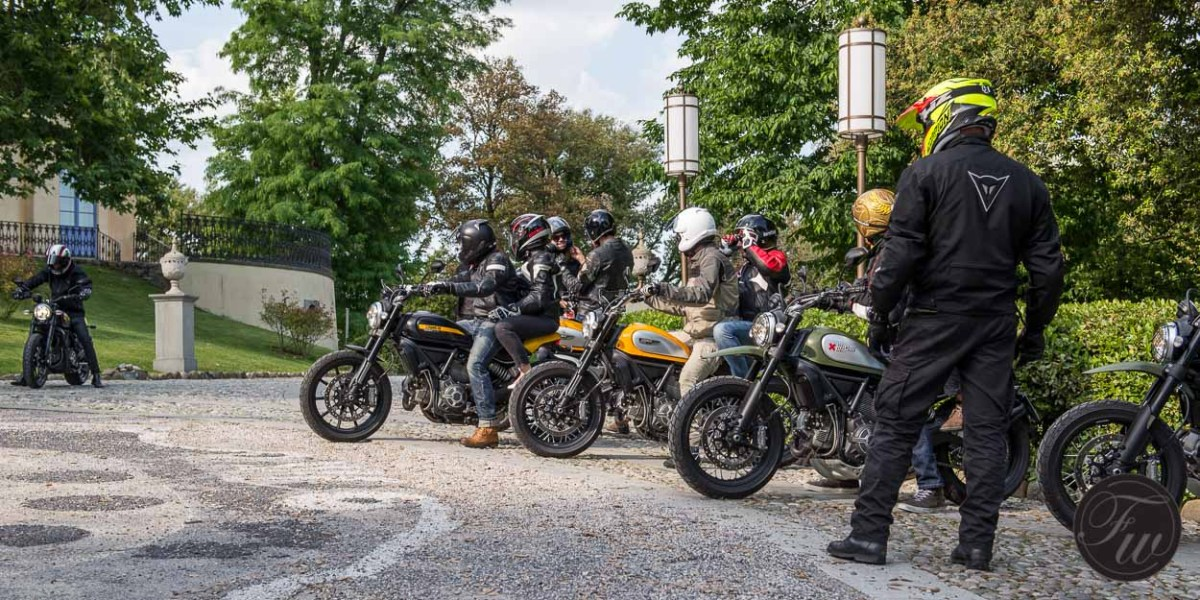 Photo-Essay: Weekend in Tuscany with Tudor & Ducati