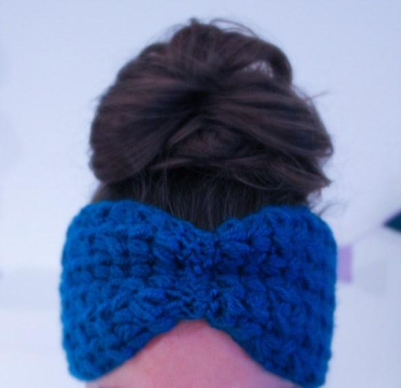 Gehäkeltes Stirnband kostenlose Anleitung 3