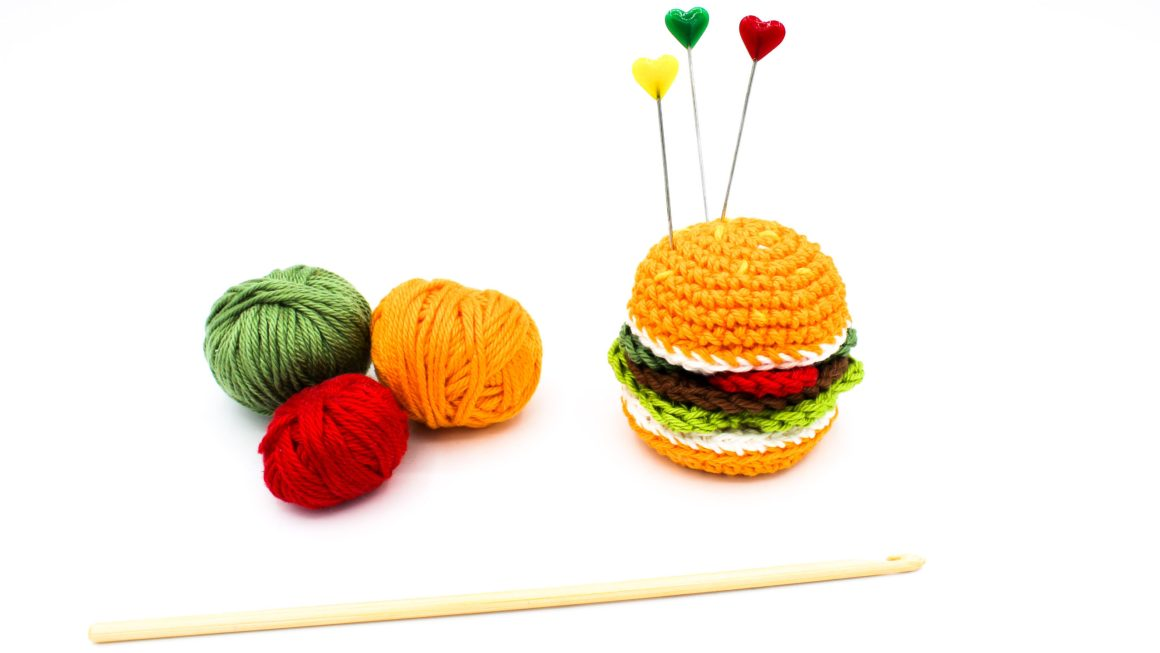 Kostenlose Anleitung gehäkelter Hamburger