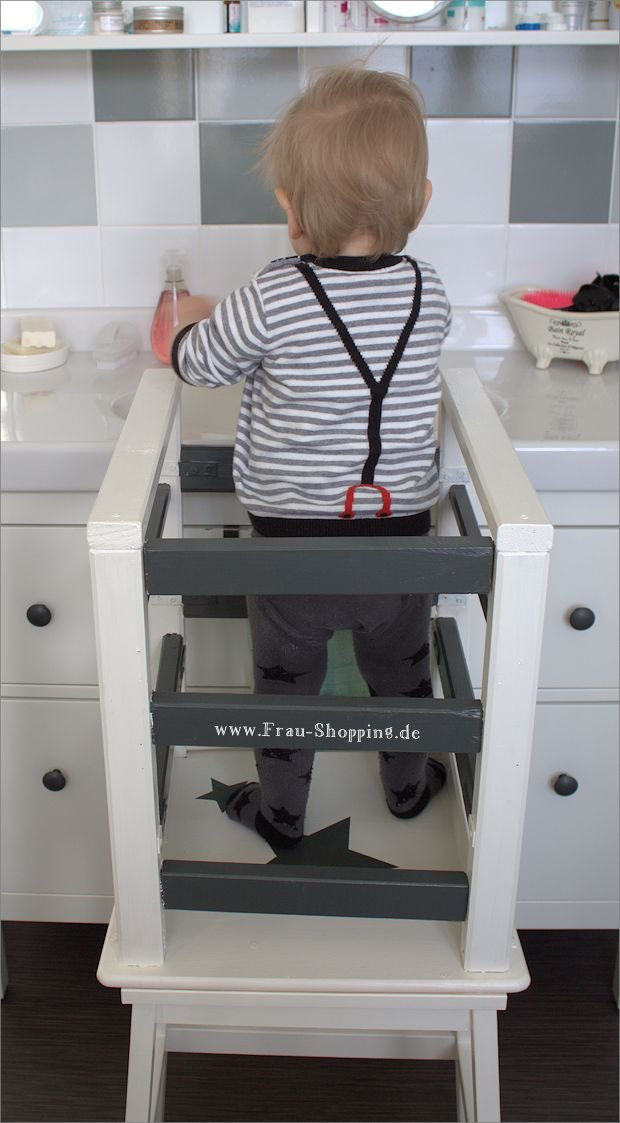 Ikea Hack Unser Selbst Gebauter Learning Tower Lernturm