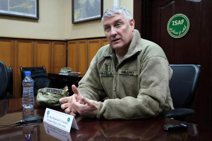 Sgt. Maj. Raymond F. Chandler-5