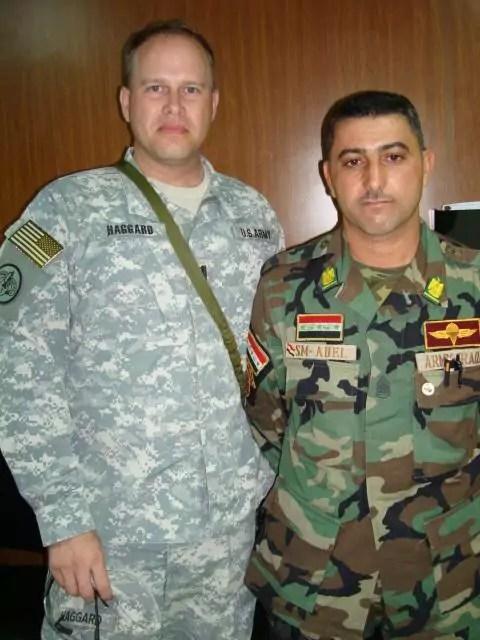 Maj. Chris Haggard