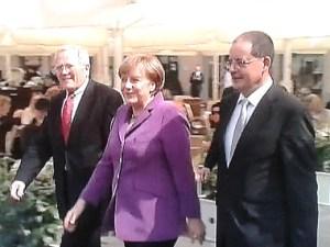 CDU-Fraktionsspitzen in Dresden
