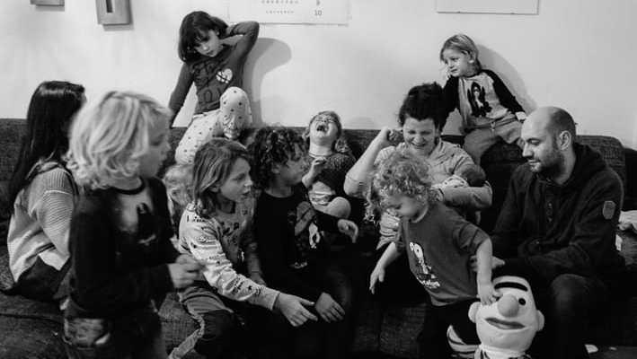 8 im Glück-Abenteuer Großfamilie