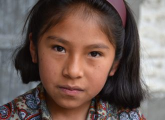 Girl from Agua Blanca, Bolivia