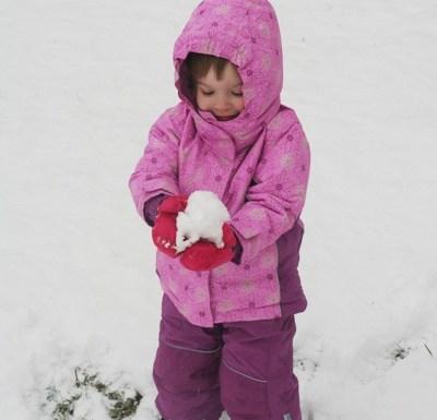 Schneeanzug für Mädchen