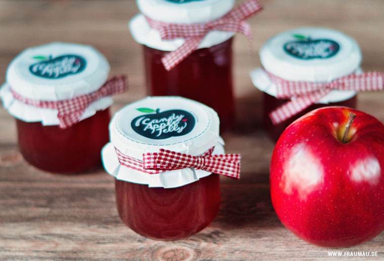 Candy Apple Jelly - Liebesapfel Gelee Do It Yourself by fraumau