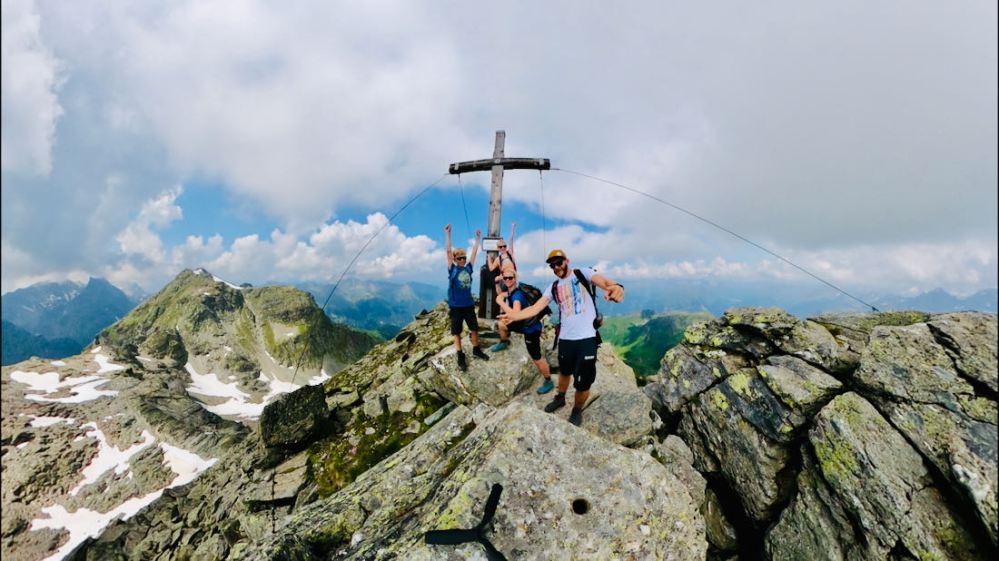 Auf der Hochspitze im Montafon