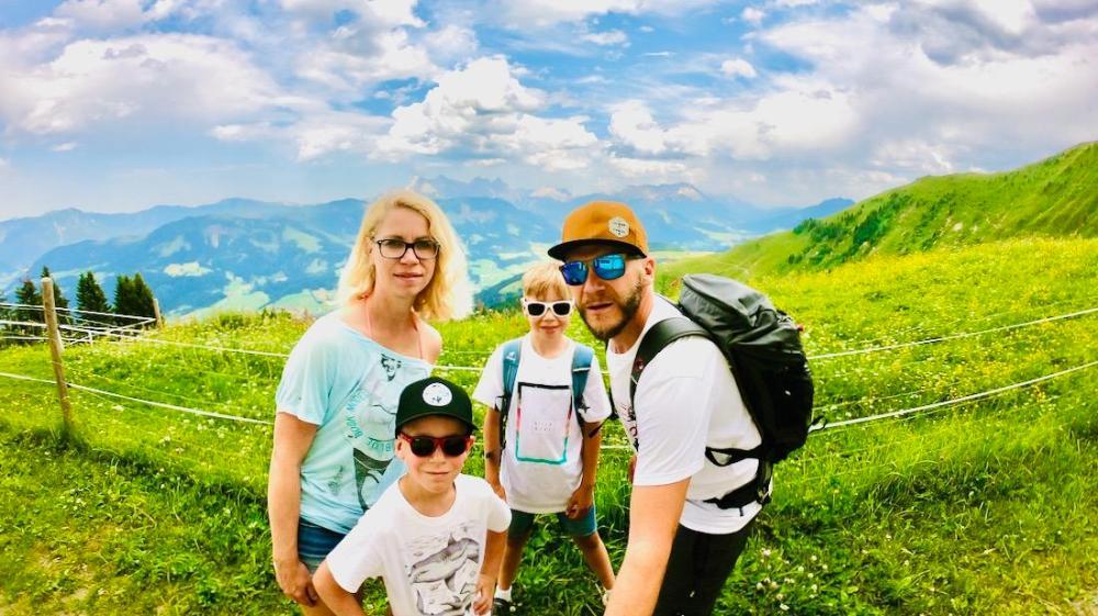 Fravely in den Kitzbüheler Bergen