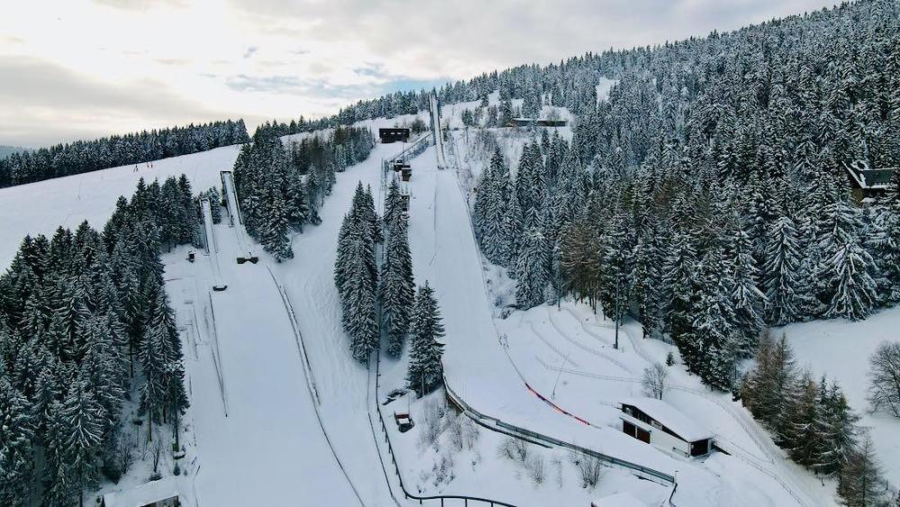 Skisprungschanze Oberwiesenthal