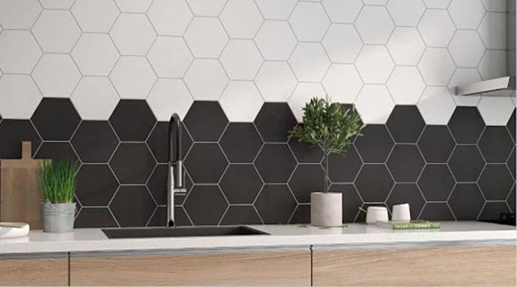 carrelage hexagonal mayfair