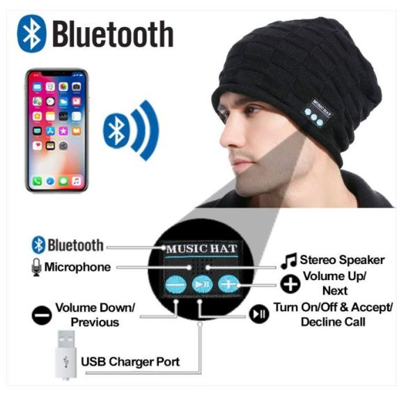wireless bluetooth headphone unique christmas gifts
