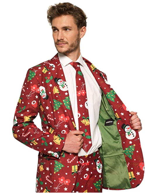 christmas suit