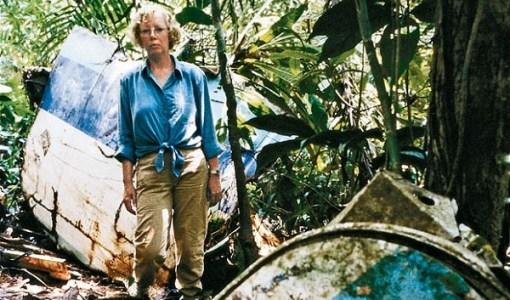 Juliane Köpcke at crash site