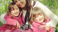 Lisa Wildgoose with daughters