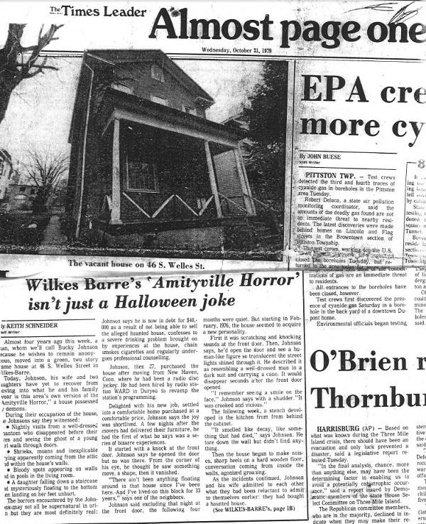 Newspaper Welles House
