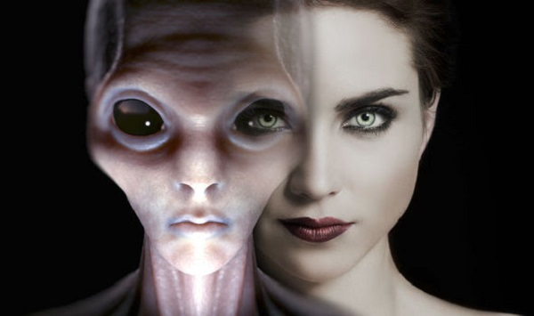 Alien human hybrids living among us