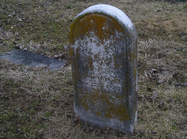 The grave of Sallie