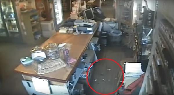 broken-glass-thrown-by-ghost-on-floor