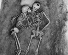 skeleton-couple Hasanlu lovers