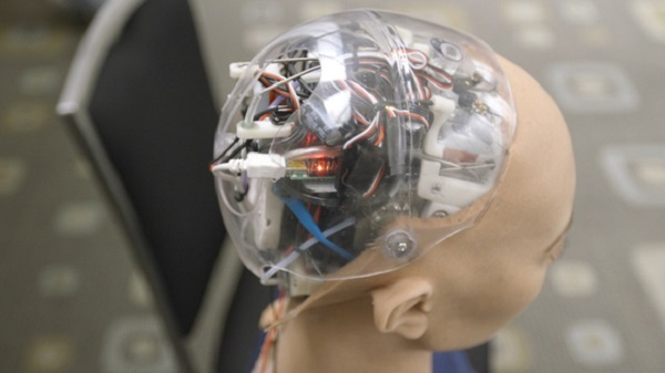AI robot head