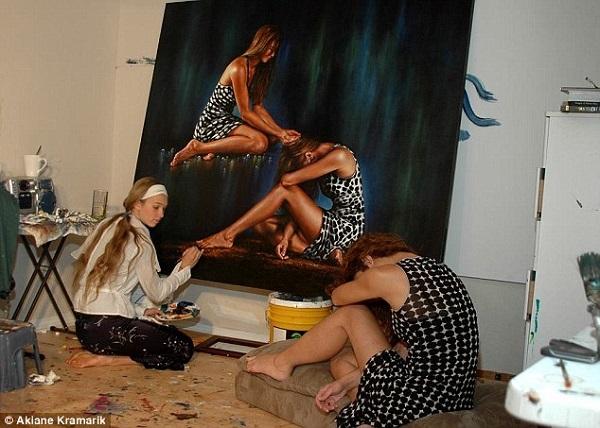 Akiane Kramarik painting