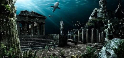 The lost city of Atlantis rests under Antarctica