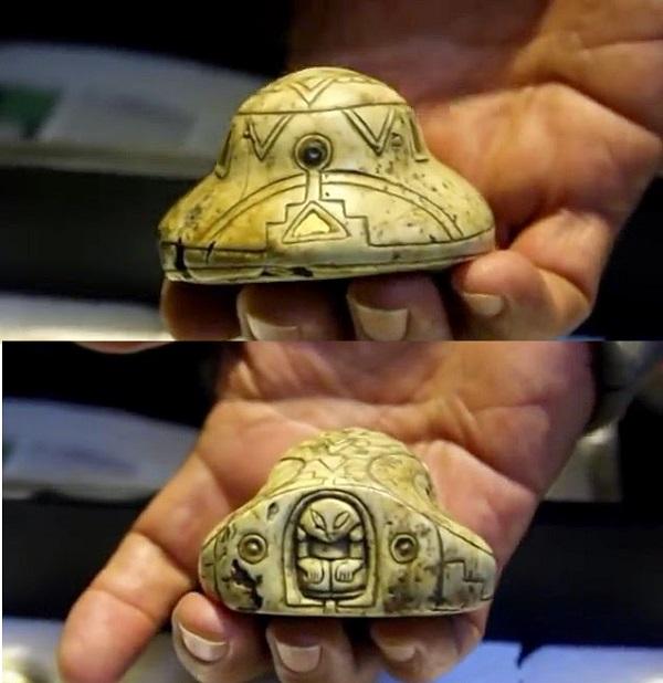 Carved spaceship