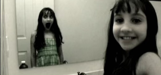 Can children see ghostly spirits?