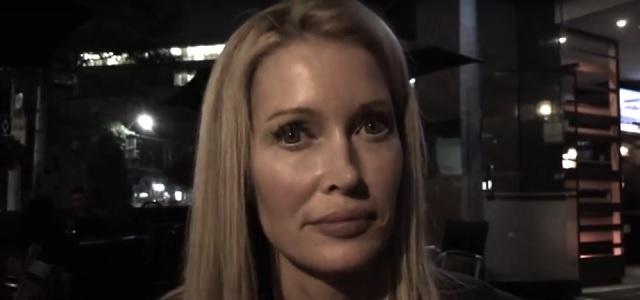 Lisa human alien hybrid on camera