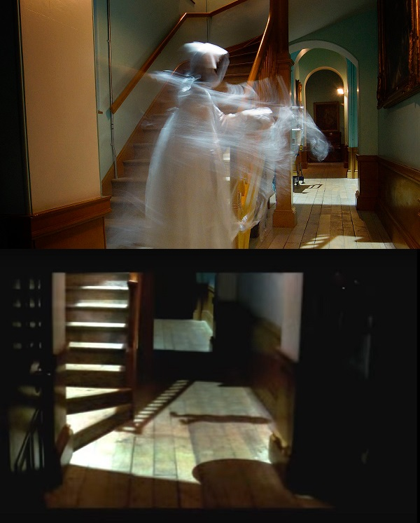 Longleat Ghost night and day