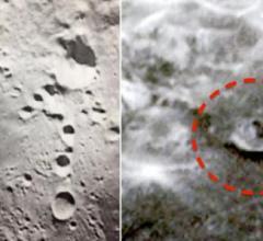Alien base photos on the Moon