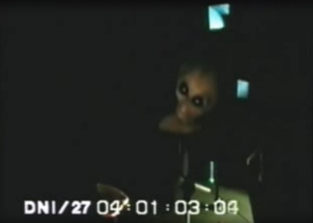 Area 51 alien video
