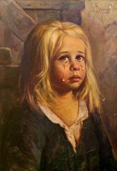 Crying Girl Bragolin