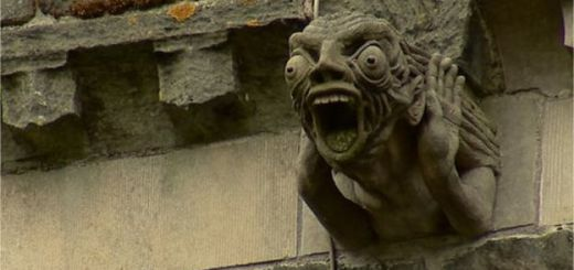 Strange encounters with gargoyles