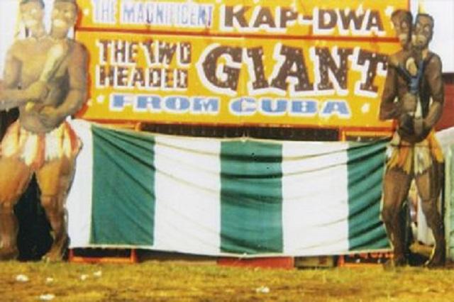 Kap-Dwa carnival display tent